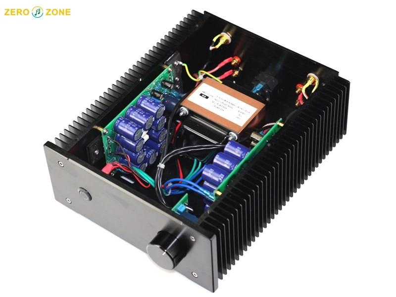 Finished PNP SANKEN 2SA1216 BR Version JLH1969 Class A Power amplifier 10W+10W gzlozone pnp sanken a1216 jlh1969 single ended class a power amplifier kit 10w 10w