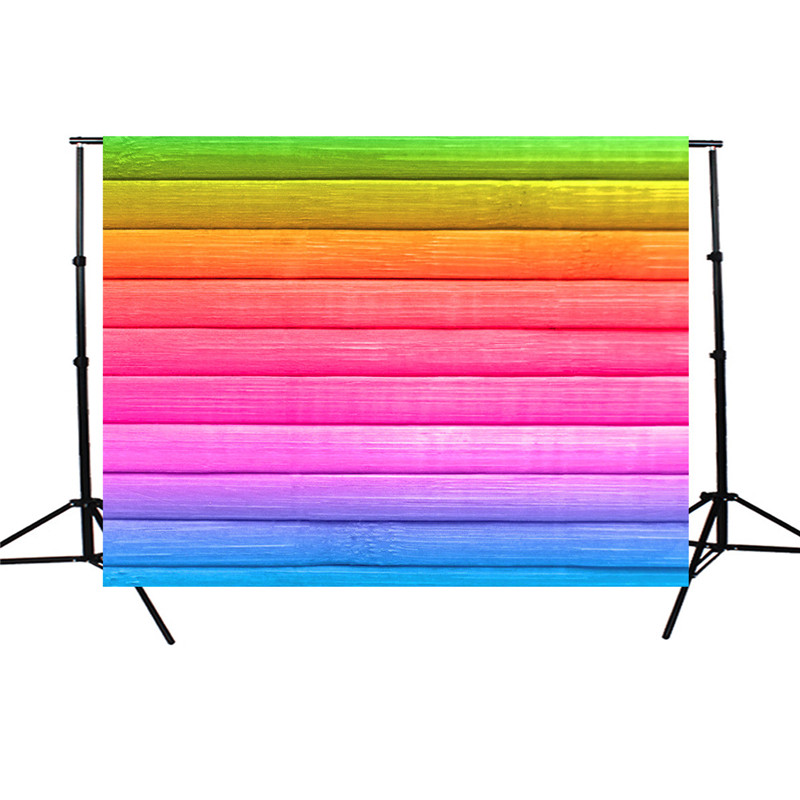 7x5ft Vinyl Colorful Wood Floor Photography Background Studio Photo Props Photographic Backdrop Cloth light weight 2.1 mx 1.5m 3x5ft wall wood floor vinyl photography background for studio photo props photographic backdrop cloth lightweight 1m x 1 5m
