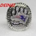 2014 New England Patriots XLIX Super Bowl replica championship rings size 11 with box,Engraving  BRADY onside