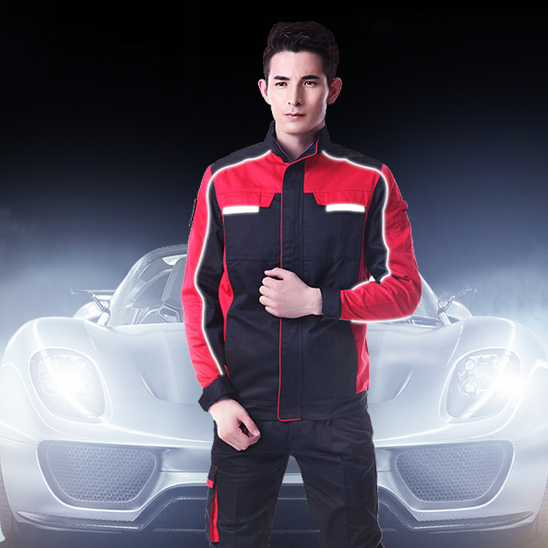 SET OF COAT+PANTS 4S car service uniform auto repair uniform machine mechanic working coat