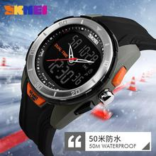 Men's double personality movement watch waterproof electronic watch fashion students multifunction Watch