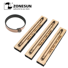 ZONESUN Bracelet Leather Cutting Die Papercraft Paper Art Leather Decoration Tool For Die Cutting Machine Diy Handicraft Cutter zonesun leather cutting machine tool knife cutter edge cutting for leather handcraft diy wallet handbag name card holder purse