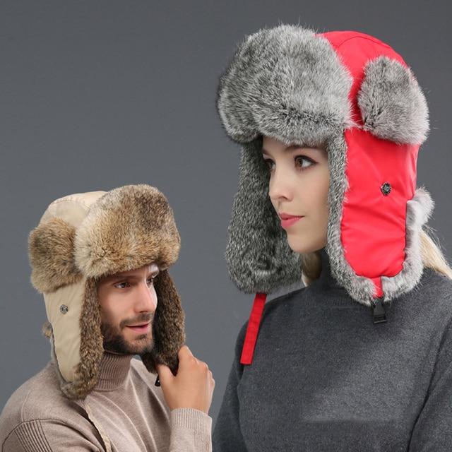 807b2962fac26 Gorros de invierno gruesos para hombres