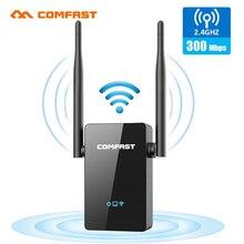 COMFAST WiFi расширитель диапазона 300 Мбит/с ретранслятор/маршрутизатор/AP WR302S 5dBi двойные внешние антенны 2,4 ГГц WiFi расширители усилитель сигнала