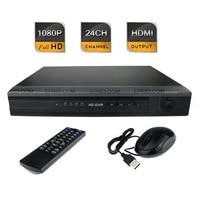 24CH FULL HD 1080P Realtime HDMI Output P2P Cloud 1.25U CCTV Network NVR