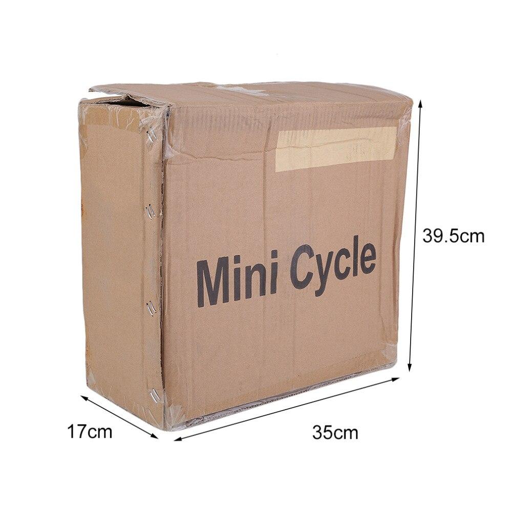 Machine portative d'exercice de jambe de bras d'exercice d'exercice de pédale mini Machine de jambe de Cycle de écran affichage LED de vélo de rotation - 6