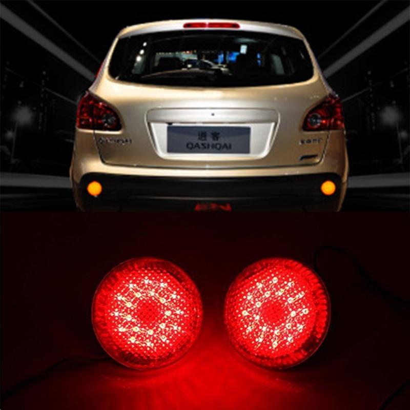 buy car led red rear bumper reflectors light brake parking warning parking tail. Black Bedroom Furniture Sets. Home Design Ideas
