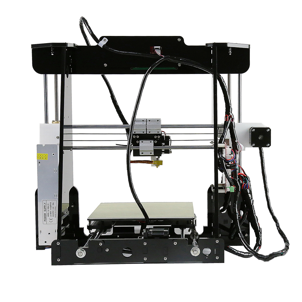 Anet A6 A8 Impresora 3D Imprimante Facile Assembler avec Auto Nivellement grande taille De Noël cadeaux Reprap i3 bricolage Imprimantes SD Carte - 5
