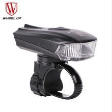 Bicycle Head Light Bike Intelligent Front Lamp USB Rechargeable Handlebar LED Lantern Flashlight Movement Action Sensor все цены