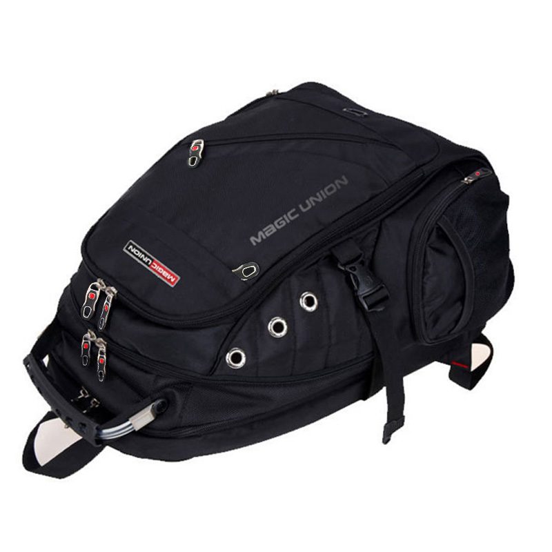 Men/'s Travel Bag Man Swiss Backpack Polyester Bags Waterproof Anti Theft Backpac