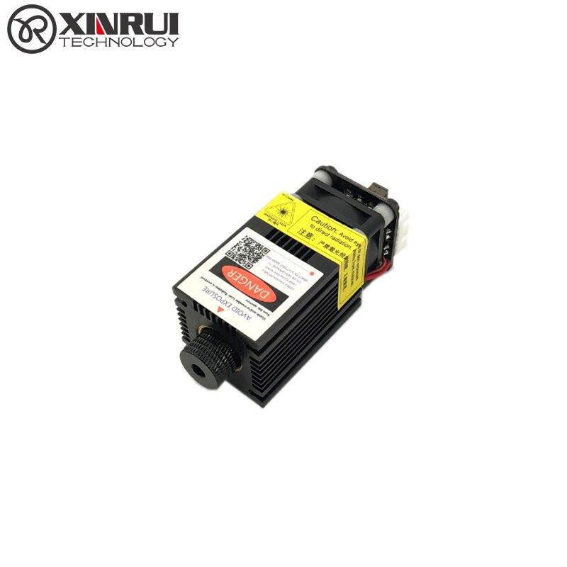Real power 500/1000/1600/2500/5500/7000 mw 405/445NM laser modul laser gravur rohr diode ttl pwm control hx2p port + goggle