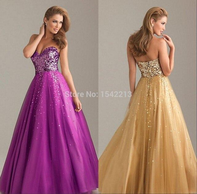 Rich Prom Dress