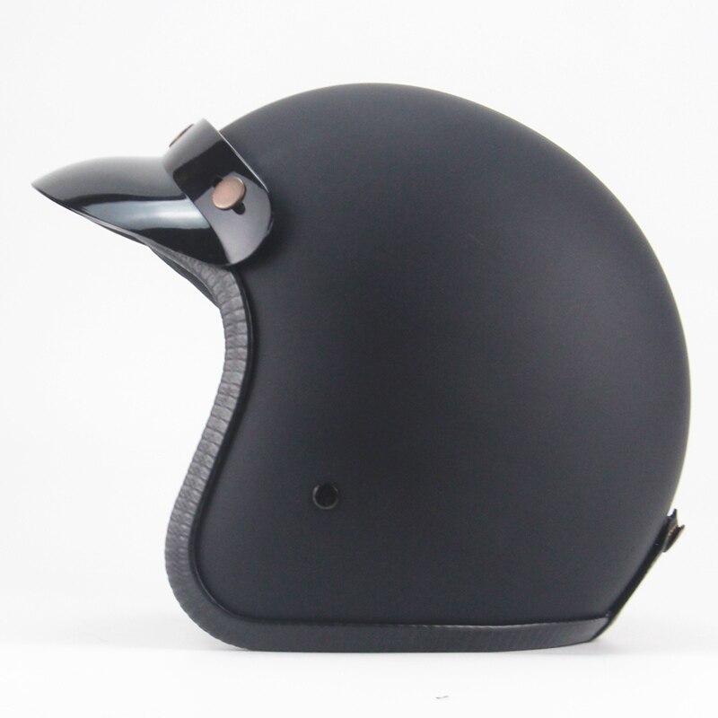 Vintage casco moto rcycle harley helm jet capacetes de moto ciclista harley vespa cascos para moto cafe racer open gesicht
