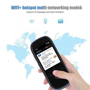 Image 3 - K1 Pro Translation 2.4inch Touch Screen WIFI 45 Languages Camera Intelligent Voice Translator instant translate traducteur vocal