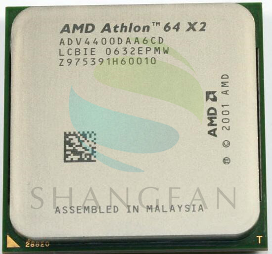 AMD Athlon X2 4400+ 2.2GHz Dual-Core CPU Processor X2 4400+ ADA4400DAA6CD ADV4400DAA6CD 95W Socket 939PIN amd 4200 4400 4800 5000 5200 amd athlon ii x 2 250