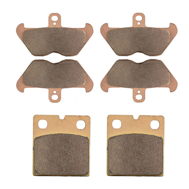Motorcycle Parts Copper Based Sintered Motor Front & Rear Brake Pads For BMW K1200RS K 1200RS 1200 RS K1200 RS 96-00 Brake Disk