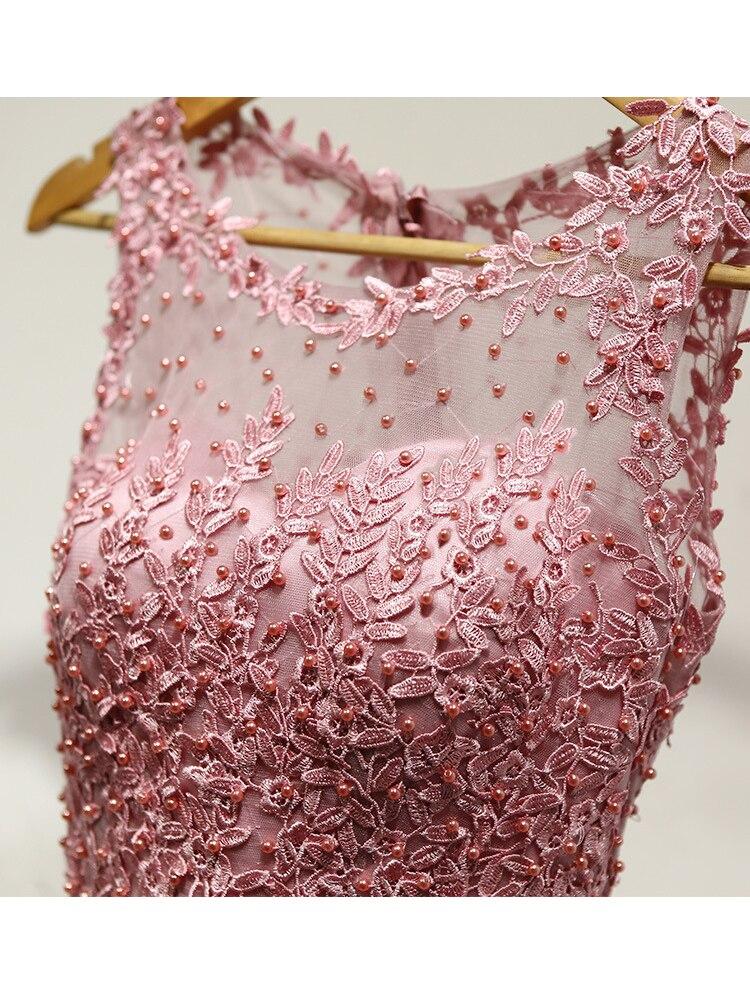 rosa vestidos formais de casamento flores ilusão
