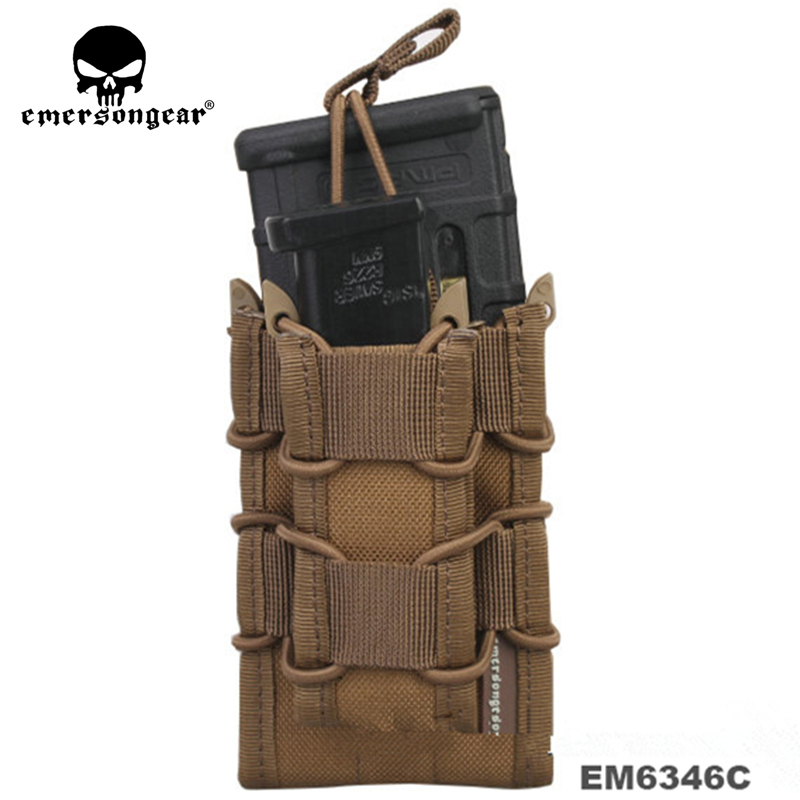 NEW Sinairsoft Emersongear Double Decker Magazine Pouch military army bag Utility Pouch MOLLE multicam black coyote brown