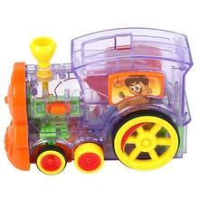 60 шт. домино поезд модель автомобиля игрушка автоматические наборы с нагрузкой картридж пятно красочные домино блоки игра автомобиль игрушки подарки для детей