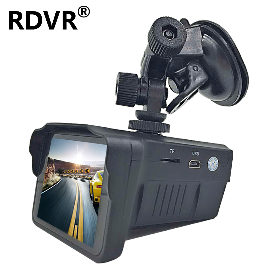 H588 auto 2 in 1 combo snelheid camera registar signaalwaarschuwing radar detector dvr dash cam