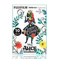 Fujifilm Instax Mini Alice HK Instant 10 Film for Fuji 7s 8 25 50s 70 90 / Polaroid 300 & SP-1 Printer