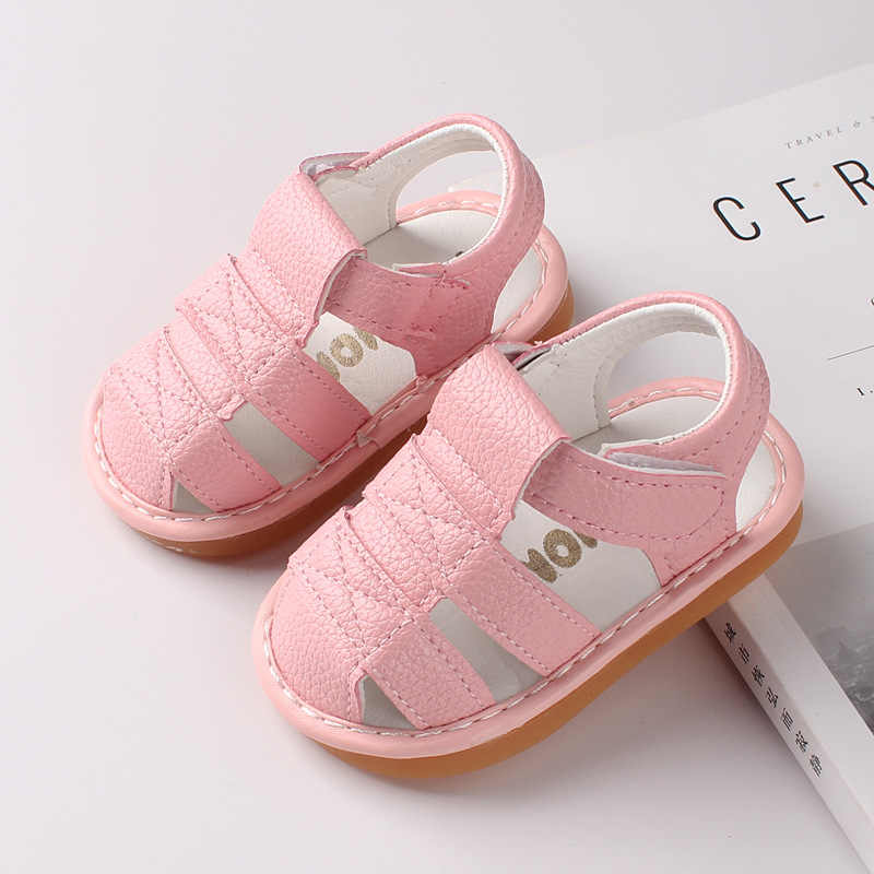 2019 חדש קיץ יילוד רך נעלי אופנה תינוק בנים ובנות סנדלי לנשימה ראשון תינוקות הליכה ספורט נעלי 1 שנה ישן