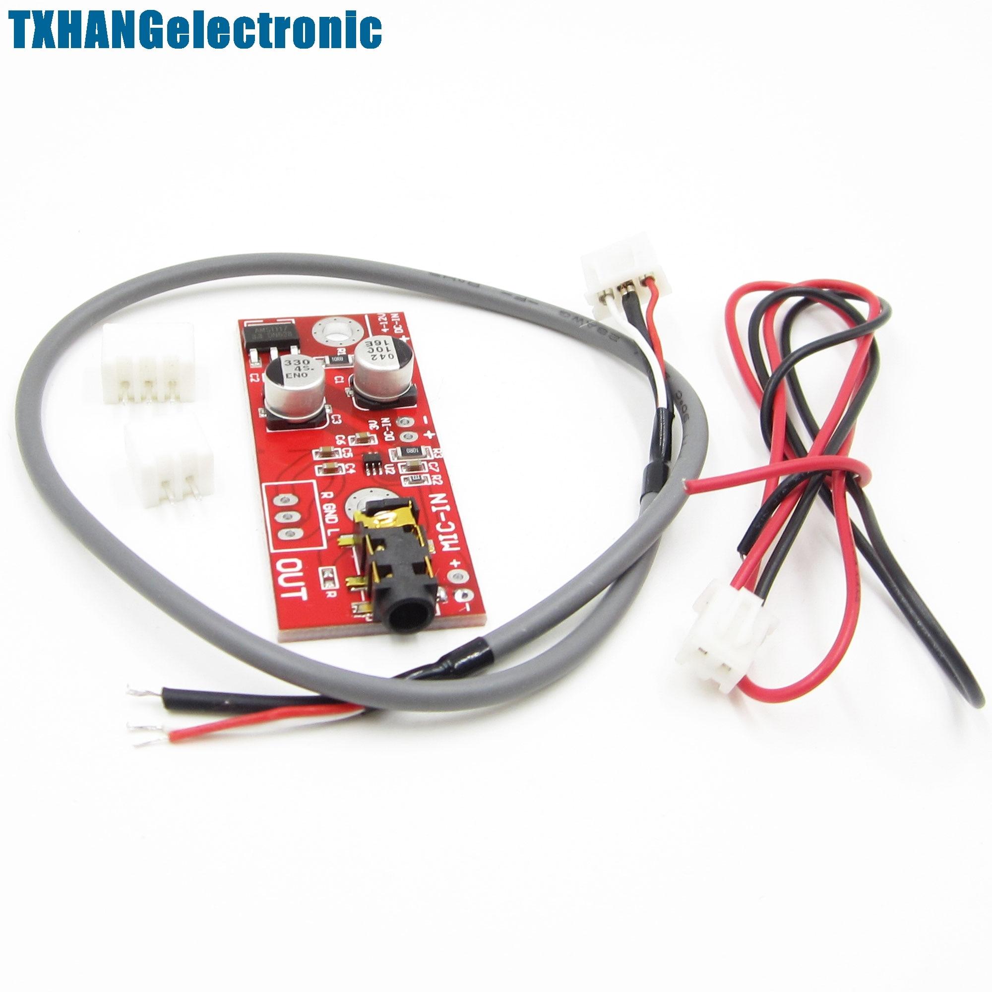 MAX9812 Electret Microphone Amplifier Board 3V/5V/12V Input NEW