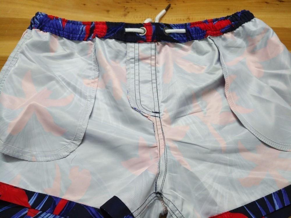 Marca Quick Dry Beachwear Verão Curto