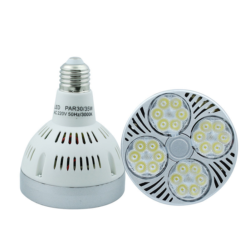 CREE Chips <font><b>par30</b></font> 35W <font><b>E27</b></font> LED Spotlight Light Bulb Lamp Cool White/Warm White High Brightness Free shipping image