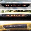 Fibra de carbono Adesivos E Decalques Alta Montada Parar Brake Light Lamp Styling de carro Para Ford Focus 2 3 MK3 MK2 2005-2017 Acessórios