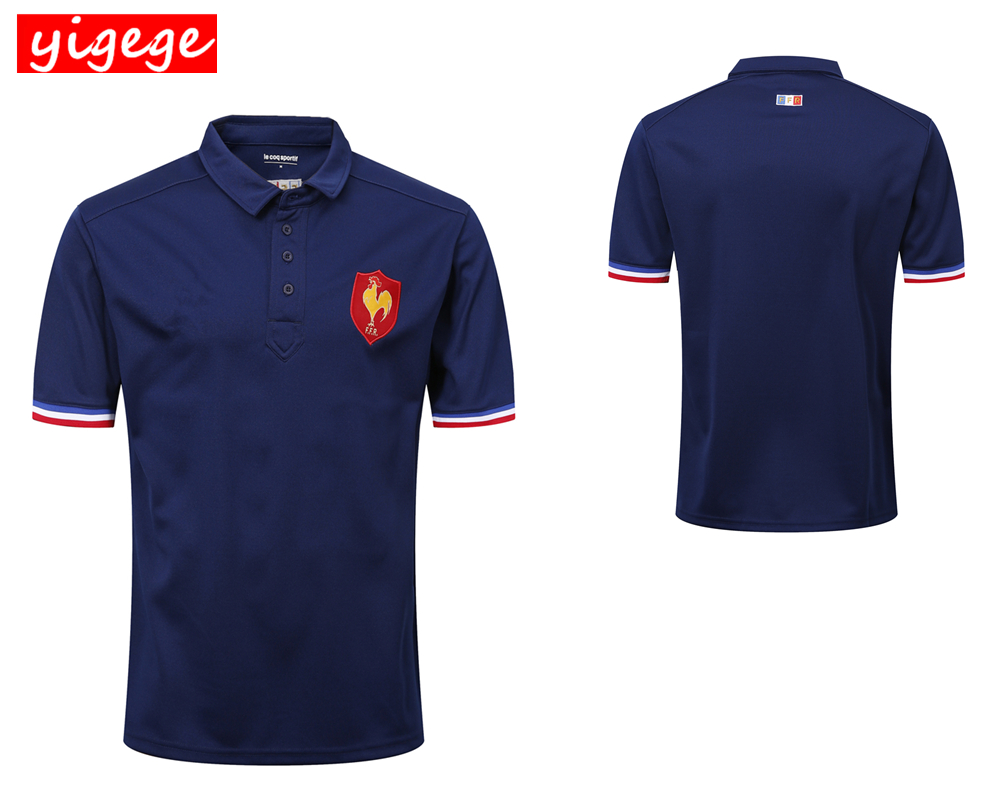 Hot sales 2019 France home and away Rugby Jerseys France Rugby shirt national team League jersey S-3XLHot sales 2019 France home and away Rugby Jerseys France Rugby shirt national team League jersey S-3XL