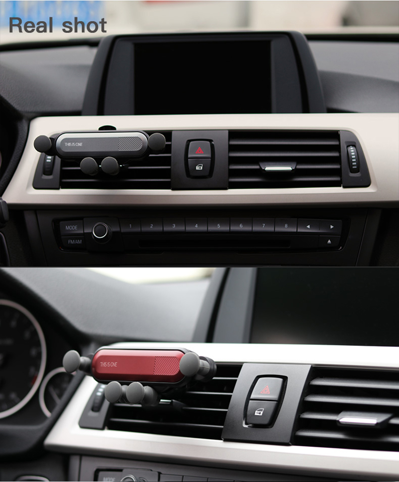 07Creative Car Mount Five-Point Mobile Phone Holder