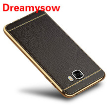 Luxury TPU Soft Silicone Phone Case PU Leather Fundas For Samsung Galaxy Note 9 A510 A520 S9 S8 Plus S7 S6 Edge Back Cover Case