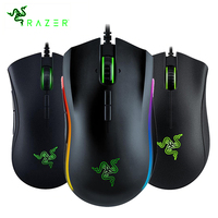 DeathAdder Elite Mouse 16000 DPI Ergonomic Chroma Lighting Optimized 450 IPS 7 Buttons eSports Wired Mouse