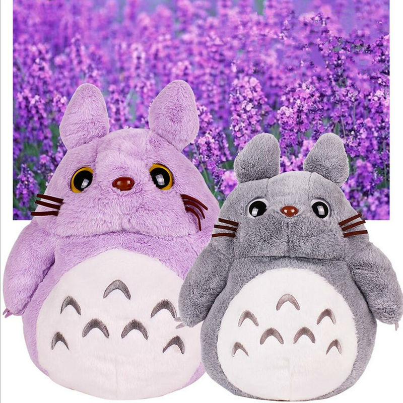 Retail Hayao Miyazaki Animation Totoro Doll Stuffed Toys Totoro Tram Plush Hand Warmers Kawaii girl Toys Cute Baby Toys