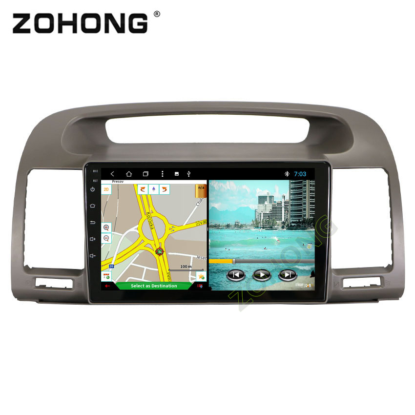 9 inch 2 5D Android8 1 Octa 8 Core 2G 32G CAR DVD Player For Toyota