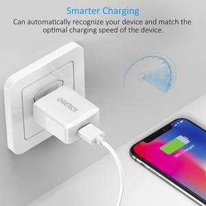 Image 5 - Choetechスマート電話usb充電器 5v 2A euプラグ旅行充電アダプタのusb壁の充電器サムスンの携帯電話充電器