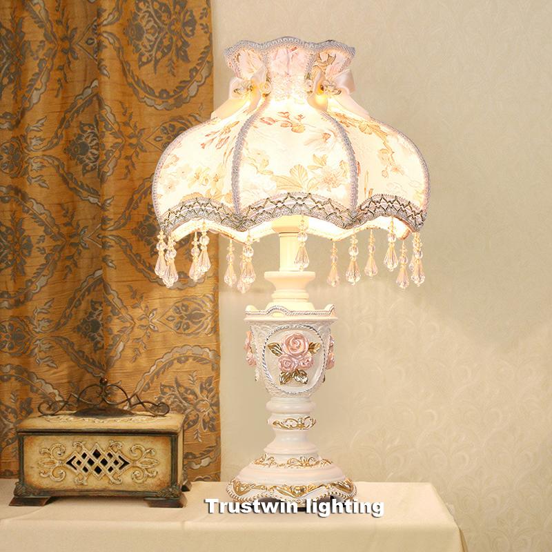 light on table