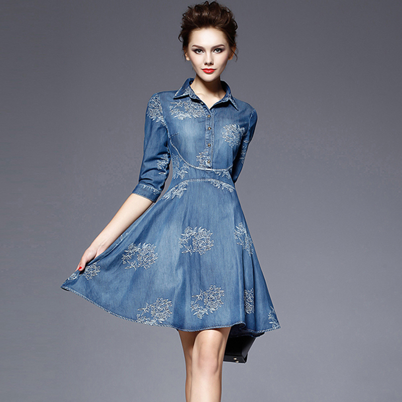 Online Get Cheap Denim Shirt Dress -Aliexpress.com  Alibaba Group