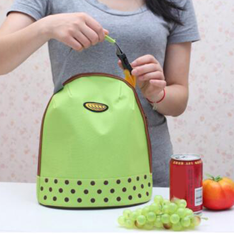 Food Heat Preservation Storage Bag Lunch Food Carry Bags for Home Organization and Storage 4 Colors Insulated Travel Bags
