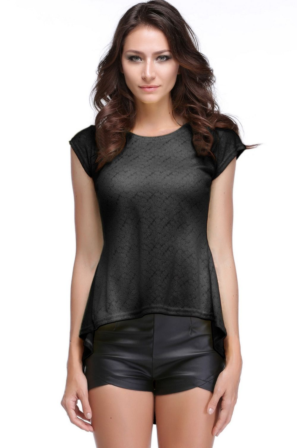 Lace Peplum Tops for Women
