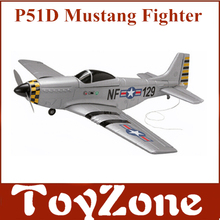 Famous Brand FMS 4Ch Radio Remote Control Airplane Mustang P51 Warbird EP RC Airplane RTF
