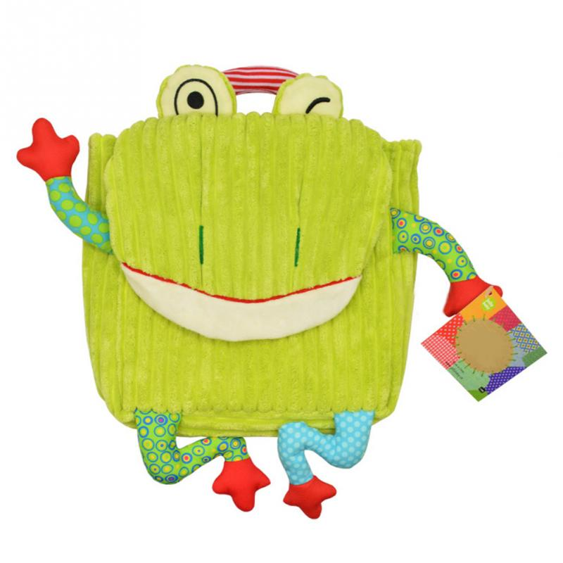 новый симпатичный мультфильм мягкие сова обезьяна игрушка плюшевые животные рюкзак для детей школьный засов детские сумки