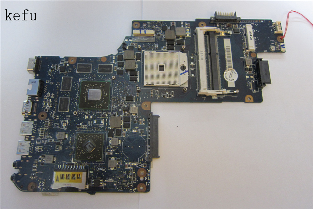H000050830  laptop motherboard for Toshiba C850D C855 L850D With graphic HD7670M SOCKET FS1 v000125930 for laptop motherboard for toshiba a300 motherboard with 100