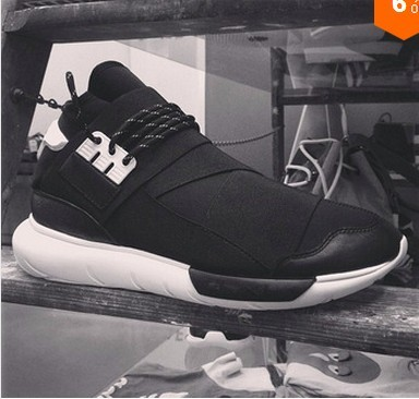d64c4b124a1d2 2016 Y-3 Qasa High G Dragon Sports Shoes top quality cheap Ninja Y3 shoes  black and white china free shipping