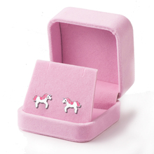 Unicorn Earrings Unique Charming Jewelry Colorful Crystal  for Women Wedding Gift Cute Animal boucle doreille