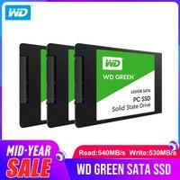 Western Digital WD SSD экологичный ПК 120 ГБ 240 ГБ 480 ГБ Внутренний твердотельный накопитель Sabit жесткий диск SATA3 6 ГБ/сек. для ноутбука