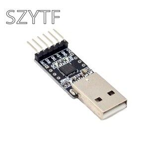 Image 2 - Nouveau module CP2102 USB à TTL USB à la carte de brosse de téléchargeur UART STC série