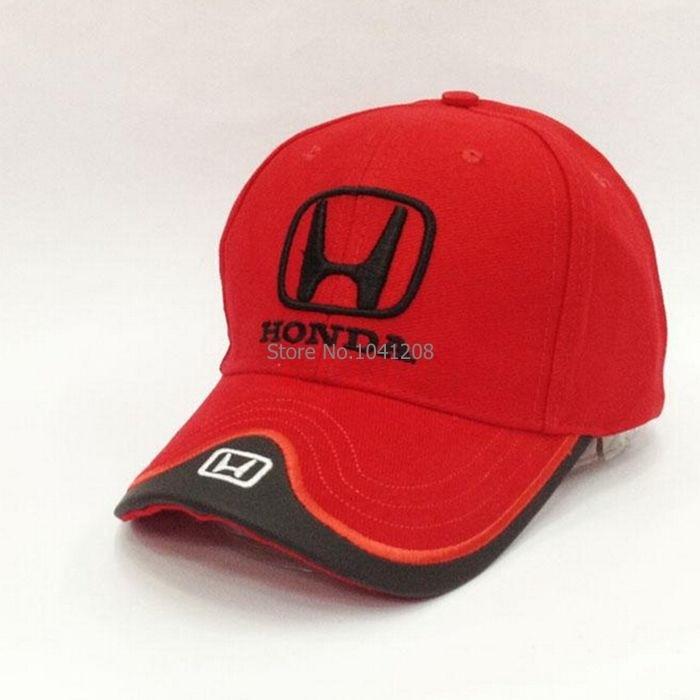 F1 Racing Car Solid honda baseball cap For Women And Men honda Motorsport  Cotton Baseball Cap Hat 4 colours 7c291bb9d4e