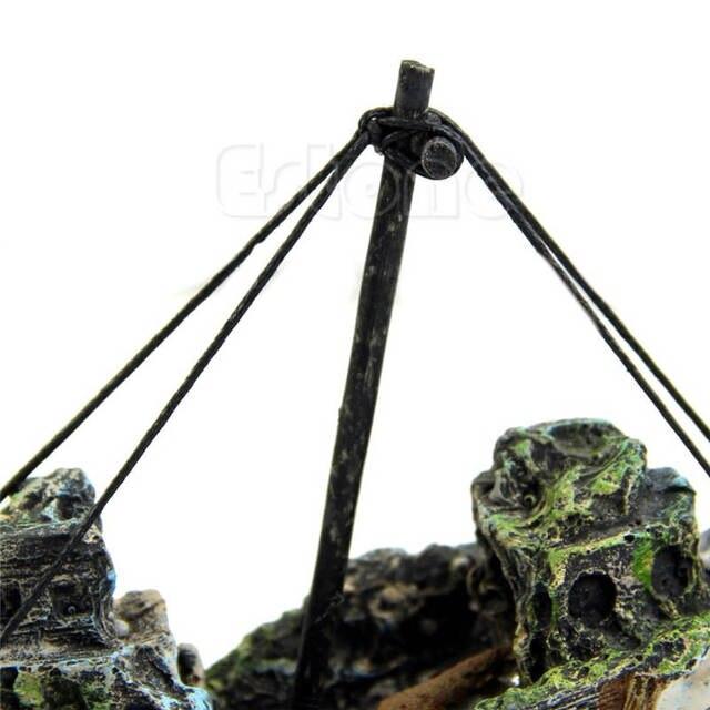 Shipwreck Aquarium Ornament 5